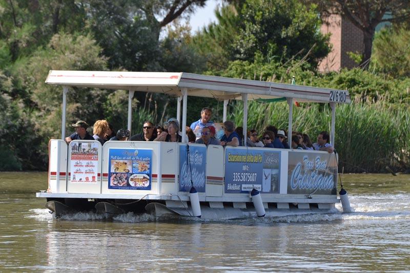 Lagunaria boat - escursioni delta del po su barca ecologica